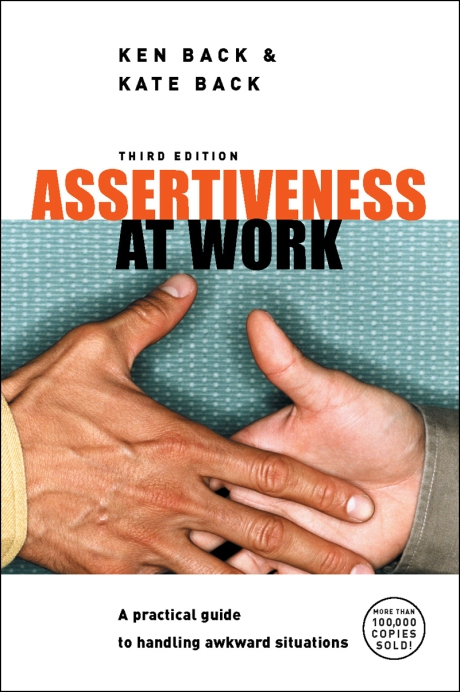 Assertiveness at Work book cover